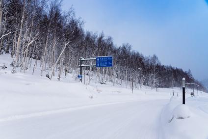 冬道の運転