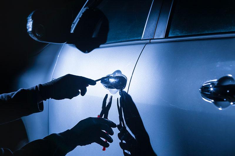愛車の盗難対策